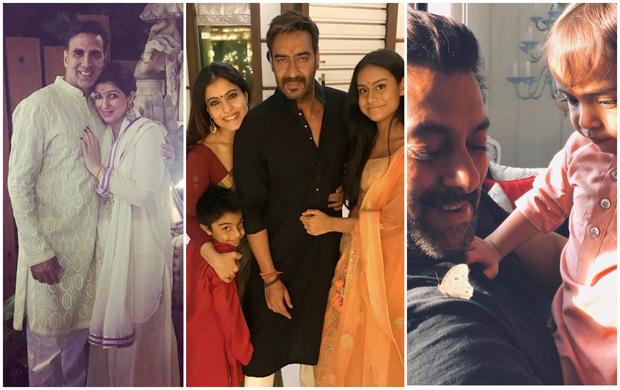 Here's how Salman Khan, Akshay Kumar, Aishwarya Rai Bachchan, Kajol, Deepika Padukone and others celebrated Diwali