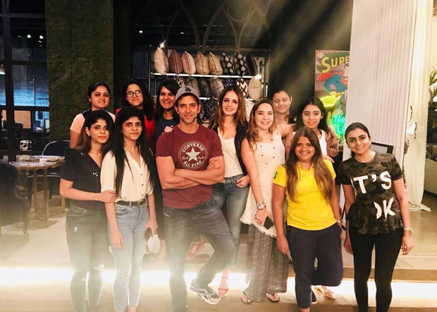 Hrithik Roshan drops by ex-wife Sussanne Khan's store