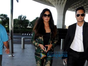 Aamir Khan, Katrina Kaif, Anil Kapoor and Aahana Kumra spotted at the airport