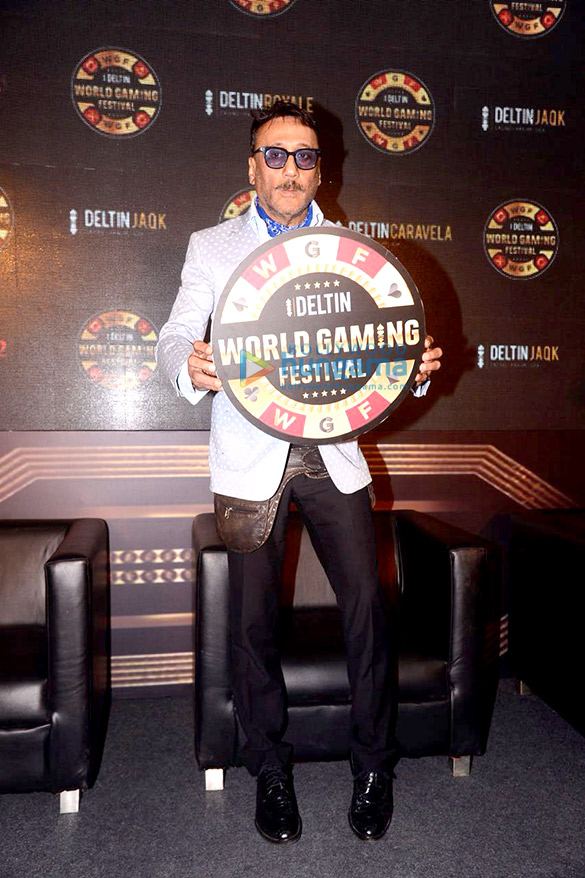Jackie Shroff at the launch of 'Deltin World Gaming Festival'