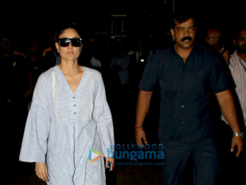 Kareena Kapoor Khan and baby Taimur Ali Khan snapped at the airport