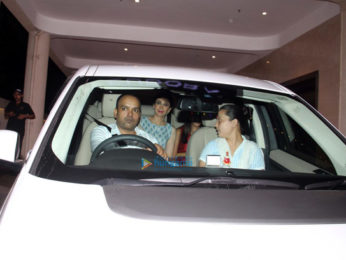 Kareena Kapoor Khan snapped at her mother's house