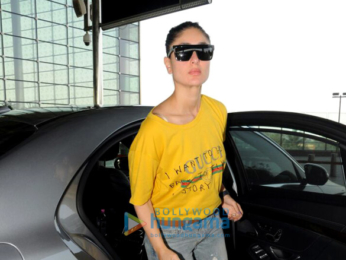 Kareena Kapoor Khan snapped at the airport