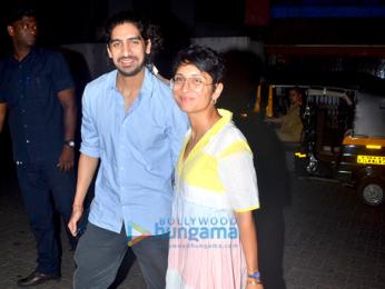 Kiran Rao and Ayan Mukerji at Bandra
