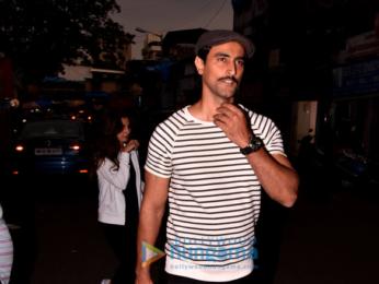 Kunal Kapoor snapped in Bandra