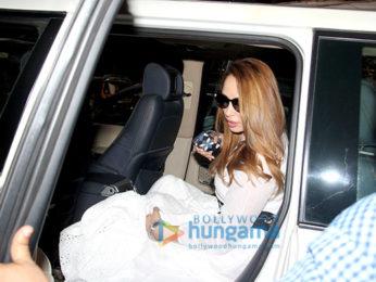 Lulia Vantur snapped in Bandra
