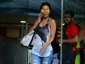 Malaika Arora snapped at Freeda