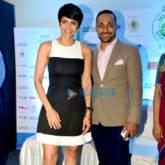 Mandira bedi and Rahul Bose become brand ambassador for Vasai- Virar marathon