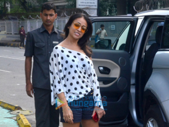 Mehr Jessia and Surily Goel snapped at BKC