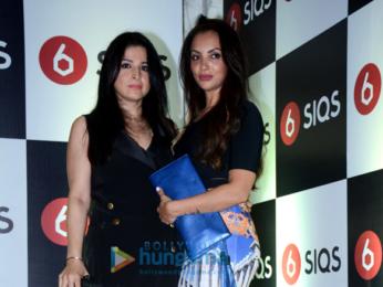 Karan Johar, Bobby Deol, Sonal Chauhan, Amrita Arora, Minissha Lamba, Kim Sharma and others at the launch of SIQS Entertainment