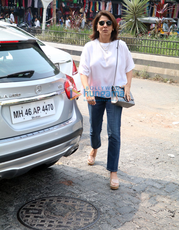 Neetu Kapoor spotted at Bastian