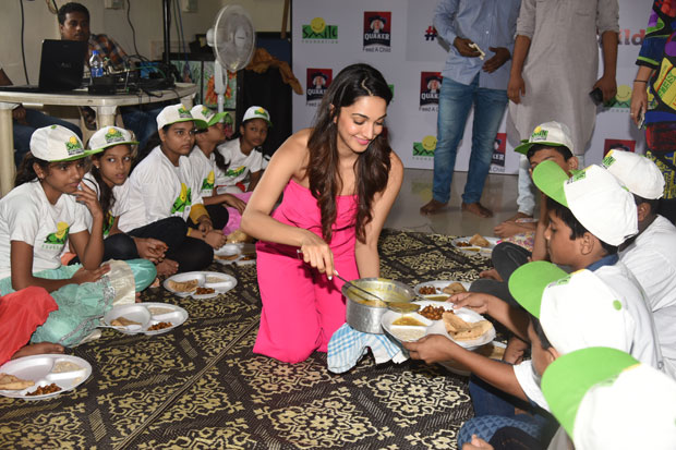 On World Food Day, Kiara Advani joins Quaker India and Smile Foundation to pledge support to 'Feed A Child' campaign-2