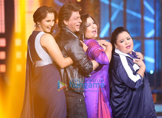 Rajput and Sania Mirza came on Farah Khan's show and set the stage afire!