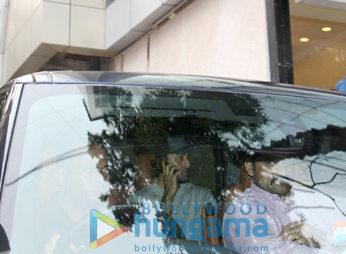 Ranbir Kapoor snapped in Bandra