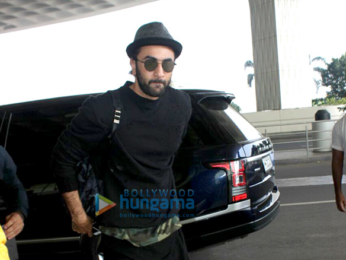 Ranbir Kapoor spotted at the airport