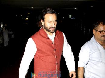 Rani Mukerji and Saif Ali Khan snapped at the airport