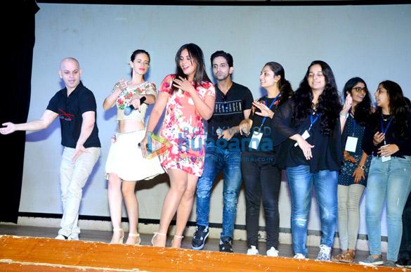Richa Chadda and Kalki Koechlin promote their film Jia and Jia in Bandra