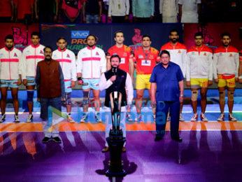 Saif Ali Khan at a 'Pro Kabaddi League' match