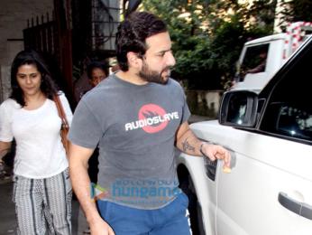 Saif Ali Khan spotted at Bandra