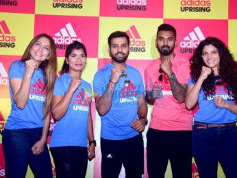 Saiyami Kher snapped at the Adidas event