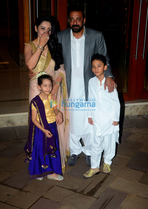 Sanjay Dutt's star-studded Diwali bash