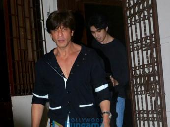 Shah Rukh Khan snapped at Shankar Mahadevan's studio