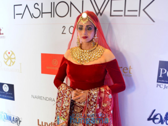 Sridevi, Shruti Hassan, Saina Nehwal walk the ramp at the 'Bangalore Times Fashion Week 2017'