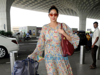 Sridevi spotted at the airport