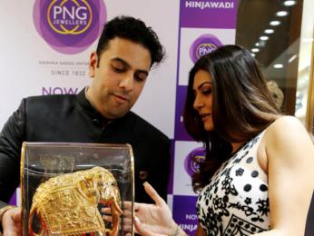 Sushmita Sen at PNG Jewellers event in Pune