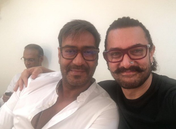 This 'Ishq' reunion of Aamir Khan and Ajay Devgn will make you nostalgic
