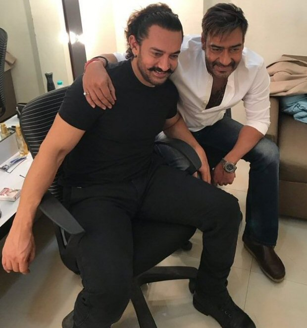 This 'Ishq' reunion of Aamir Khan and Ajay Devgn will make you nostalgic2