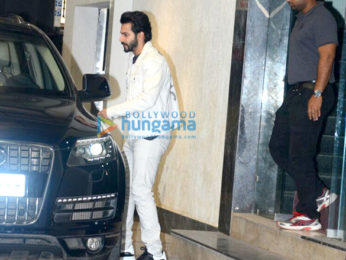 Varun Dhawan spotted after gym session in Khar