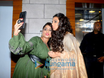 Vidya Balan at RJ Malishka birthday bash