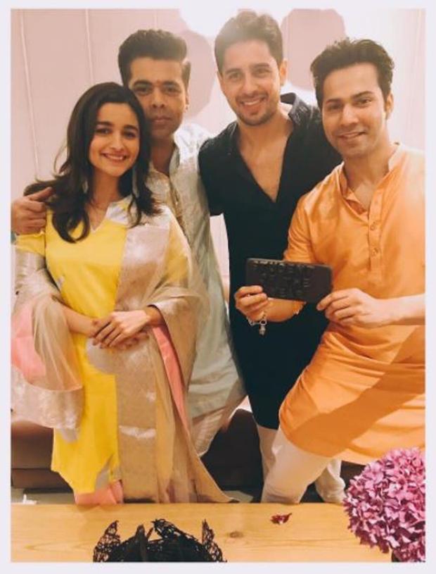 WATCH Alia Bhatt, Varun Dhawan, Sidharth Malhotra and Karan Johar celebrate 5 years of Student of the Year with 'Disco Deewane'
