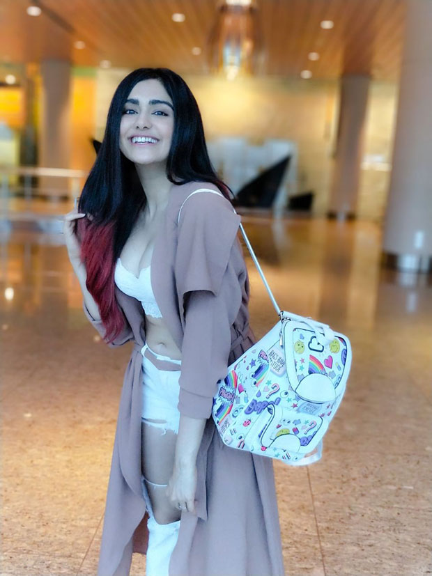 WHOA! Adah Sharma dons a sultry airport look (2)