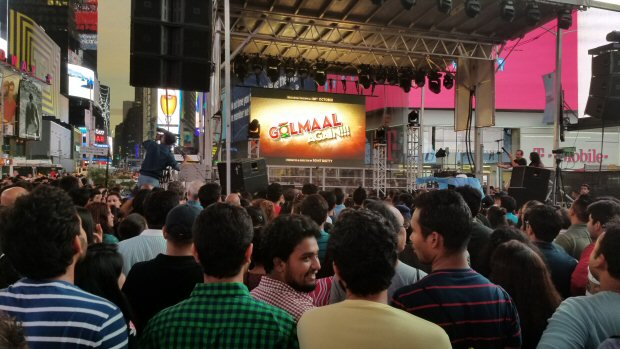 WHOA! Golmaal Again trailer receives tremendous response at Times Square3