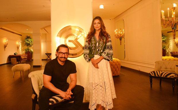 WOW! Aamir Khan visits Gauri Khan's store; calls it 'an amazing space'
