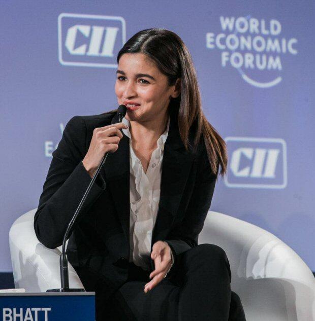 WOW! Alia Bhatt looks dapper at World Economic Forum