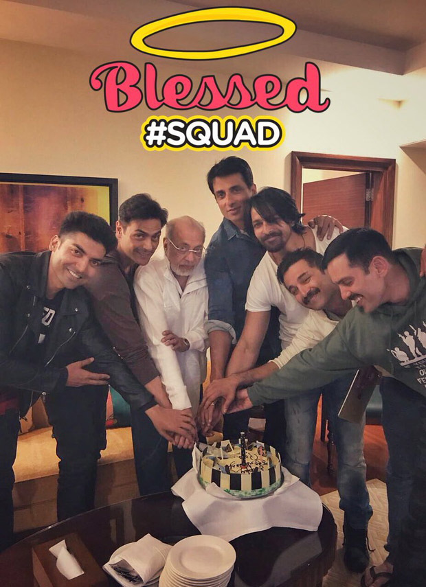 WOW! Paltan actors come together to celebrate J P Dutta's birthday