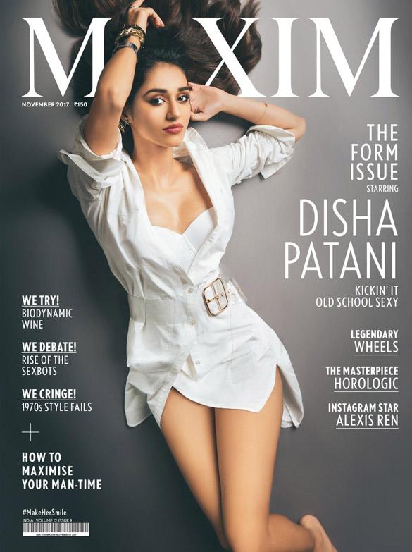 Disha Patani On The Cover Of Maxim
