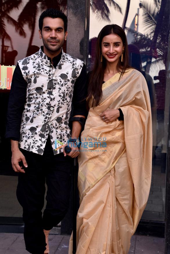 Rajkummar Rao and Patralekha snapped at an event for the ALT