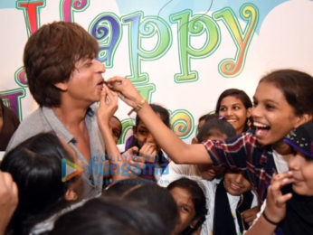 Shah Rukh Khan celebrates children's day with Spark A Change Foundation