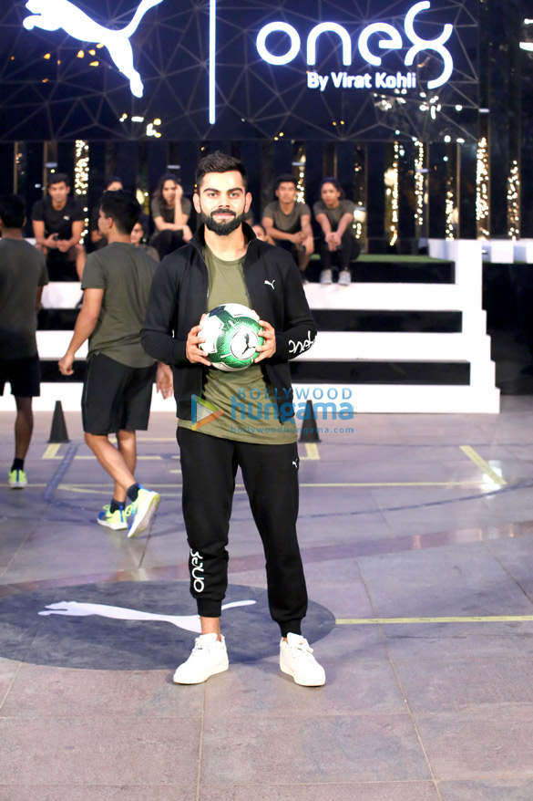 Virat Kohli At The Launch Of Virat One 8 With Puma In New