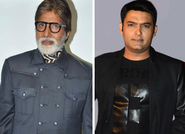 WOW! Amitabh Bachchan does voiceover for Kapil Sharma's film