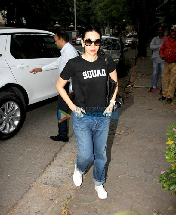 Yami Gautam and Karisma Kapoor spotted at B'blunt