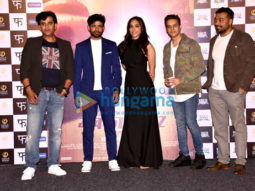 Anurag Kashyap, Aanand. L. Rai and others at 'Mukkabaaz' trailer launch