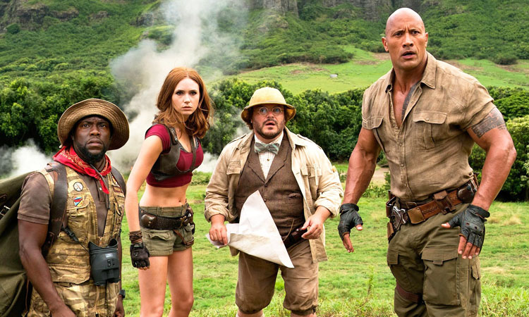 Movie Review: Jumanji - Welcome to The Jungle (English)