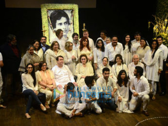 Kapoor family attends Shashi Kapoor's prayer meet at Prithvi theatre