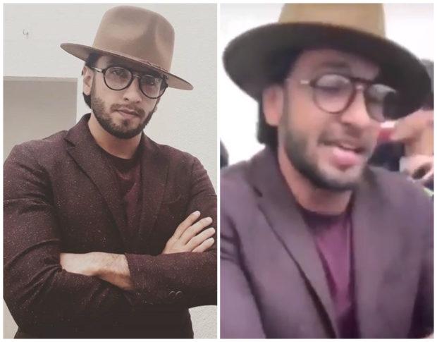 Ranveer Singh shows off his rapping skills