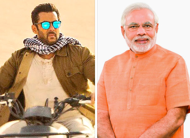 Tiger Zinda Hai's tribute to PM Narendra Modi